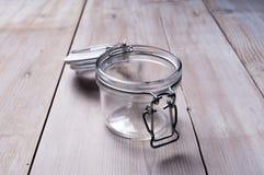 Empty jar Royalty Free Stock Photography