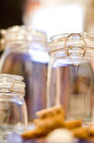 Empty Jars Royalty Free Stock Photo