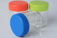 Empty jars Royalty Free Stock Photo