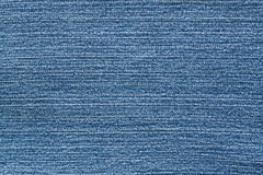 Empty Jean Cloth Blue Color Stock Photography