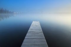 Empty jetty Stock Photography