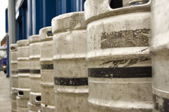 Empty Kegs Royalty Free Stock Photo