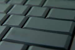 Empty keyboard keys Stock Images