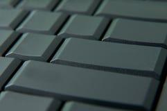 Empty keyboard keys Stock Images