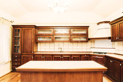 Empty kitchen Royalty Free Stock Image