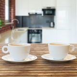Kitchen table top Stock Photography