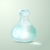 Empty laboratory flask Royalty Free Stock Photography