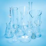 Empty laboratory glassware Royalty Free Stock Images