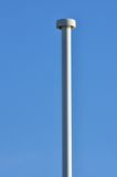 Empty lampost with blue sky Royalty Free Stock Photos