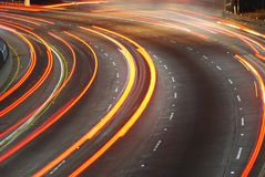 empty lane Στοκ Φωτογραφία
