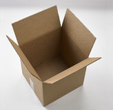 Empty large cardboard Box Stock Image