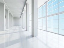 The empty large hall Stock Photography