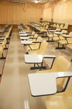 Empty large lecture room Stock Photography