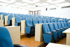 Empty lecture hall Stock Images