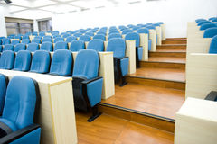 Empty lecture hall Royalty Free Stock Photos