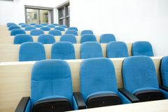 Empty lecture hall Stock Photography