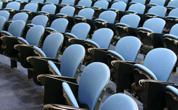 Empty lecture hall Stock Photo
