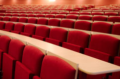 Empty Lecture Hall Close-up Royalty Free Stock Photo