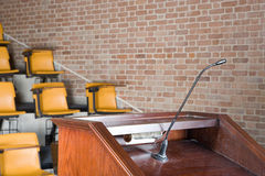 Empty lecture theatre Royalty Free Stock Photography