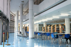 Empty library. An university library of china royalty free stock photos