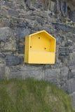 Empty life buoy box Royalty Free Stock Photo