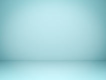 Empty light green pastel background with shadows . 3D render Royalty Free Stock Image