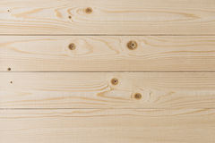 Empty light wooden planking texture. Wall background Royalty Free Stock Photography