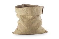 Empty Linen sack Stock Photos