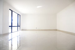 Empty living area Stock Photos