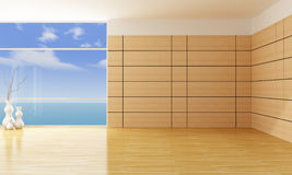 Empty living room Stock Photography
