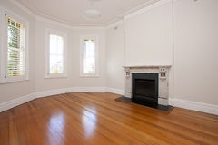 Empty Living Room Floor Royalty Free Stock Photo