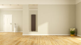 Empty living room Royalty Free Stock Images