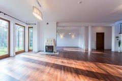 Empty living room Royalty Free Stock Photo