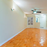 Empty living room Stock Photo