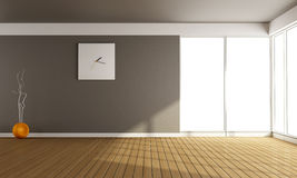 Empty living room Royalty Free Stock Image