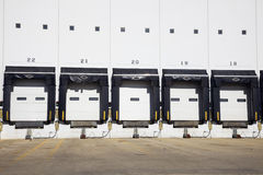 Empty Loading Dock Royalty Free Stock Photography