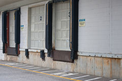 Empty Loading dock Royalty Free Stock Images