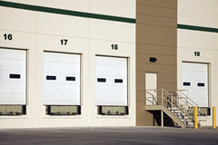 Empty Loading Dock Stock Photo