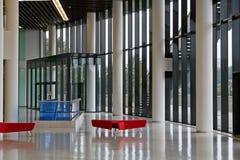 Empty lobby of congress-hall Royalty Free Stock Photo