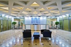 Lobby at office building Royalty Free Stock Photos
