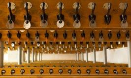 Empty locker room Royalty Free Stock Photo