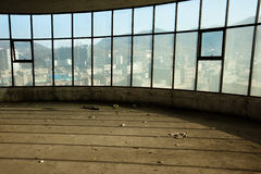 Empty loft apartment. An abandoned apartment reflecting the real estate crisis Stock Photos