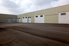 Empty logistics center Royalty Free Stock Photo