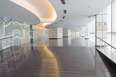 Empty long corridor Royalty Free Stock Photos