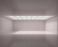 Empty Long Room Stock Photography
