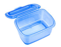 Empty lunch box Royalty Free Stock Images