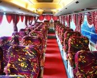 Empty luxury bus Stock Photos