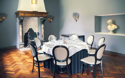 Empty luxury table in room Royalty Free Stock Photography