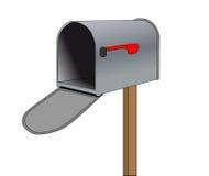 Empty mailbox royalty free illustration
