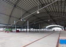 Empty market hall Stock Image